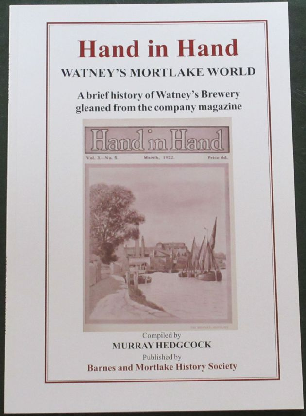 Hand in Hand - Watney's Mortlake World, by Murray Hedgcock
